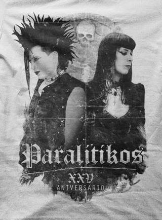 PARALITIKOS, 20 de diciembre de 2014, Sala Wurlitzer Ballroom, Madrid
