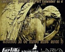 SABADO 30 DE MAYO: WORLD GOTH DAY, CON FURTIVA, LA BROMA NEGRA Y LARVA, EN EL MARAVILLAS, MADRID