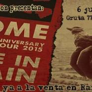 ROME, SÁBADO 6 DE JUNIO, EN MADRID: 10 YEAR ANNIVERSARY TOUR