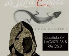 PODCAST CAPÍTULO 67: LAGARTIJAS Y RAYOS X (ESPECIAL PETER MURPHY)