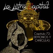PODCAST CAPÍTULO 72: DEMONIOS Y CANÍCULAS