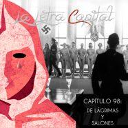 PODCAST CAPÍTULO 98: DE LÁGRIMAS Y SALONES