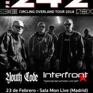 FRONT 242 + YOUTH CODE + INTERFRONT, EL 23 DE FEBRERO EN MADRID