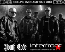 FRONT 242 + YOUTH CODE + INTERFRONT, EL 23 DE FEBRERO EN MADRID
