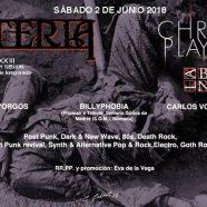LA BROMA NEGRA + CHRISTINE PLAYS VIOLA, SABADO 2 DE JUNIO EN LA SESION MYSTERIA XXIII, MADRID