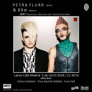 PETRA FLURR, el 5 de julio en Madrid