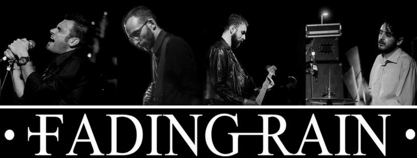 Colllage promocional de Fading Rain (2017)