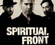SPIRITUAL FRONT, EL 10 DE NOVIEMBRE, DOBLE CONCIERTO EN MADRID