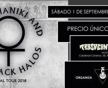 ARIEL MANIKI AND THE BLACK HALOS, EL 1 DE SEPTIEMBRE EN MADRID