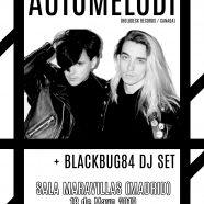 Automelodi + Blackbug84, en Mayo en Madrid