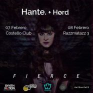 HANTE + HORD, EN FEBRERO EN MADRID Y BARCELONA