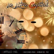 PODCAST CAPÍTULO 192 – CANCIONES PARA CAMBIAR DE AÑO