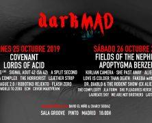 RECORDATORIO: DARKMAD EN OCTUBRE EN MADRID