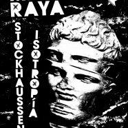 RECORDATORIO: MARTA RAYA + STOCKHAUSSEN + ISOTROPÍA, MADRID 28DE SEPTIEMBRE