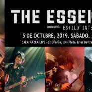 THE ESSENCE + ESTILO INTERNACIONAL, 5 DE OCTUBRE EN MADRID