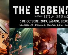 THE ESSENCE + ESTILO INTERNACIONAL, 5 DE OCTUBRE EN MADRID