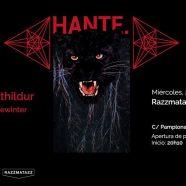 HANTE. Y SÓLVEIG MATTHILDUR +  DEWINTER (ARTISTA INVITADO) EN BARCELONA