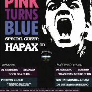 POST PARTY OFICIAL CONCIERTO PINK TURNS BLUE + HAPAX